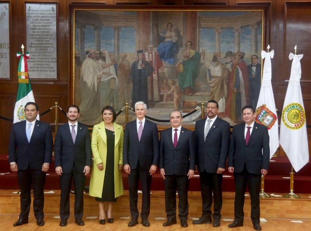 Recibirá Congreso informe de Alfredo del Mazo el 20 de septiembre
